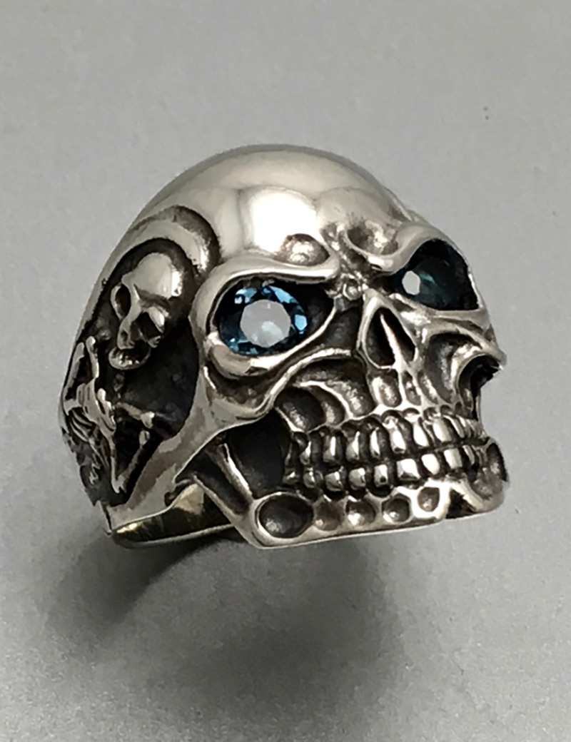 Smiling Skeleton Skull Ring  Jewellery House Of Evelyn Piper. Elvish Rings. Tiny Rings. Whatsapp Dp Engagement Rings. Stadium Rings. Queen Bee Rings. Matte Yellow Gold Engagement Rings. Bride Perfect Wedding Engagement Rings. Portrait Rings