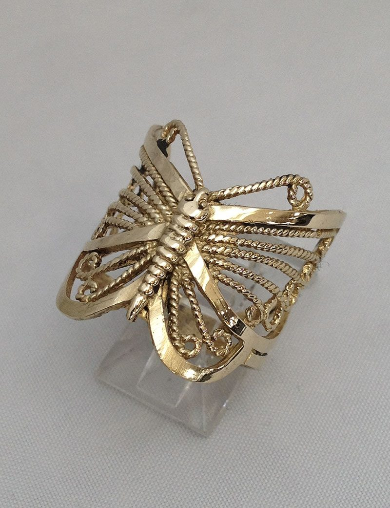 for butterfly in rings design woman your to ring adjuster vintage choose